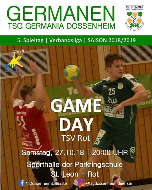 GAME DAY beim TSV Rot Handball D